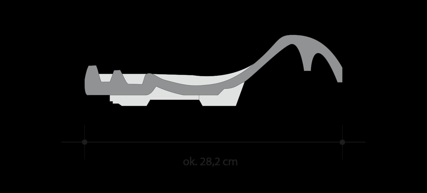 Размеры черепицы BORNHOLM - Roben-Украина