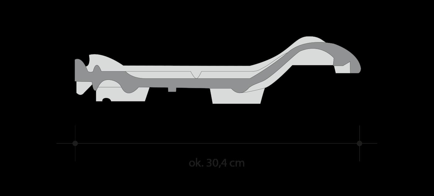 Размеры черепицы MonzaPlus