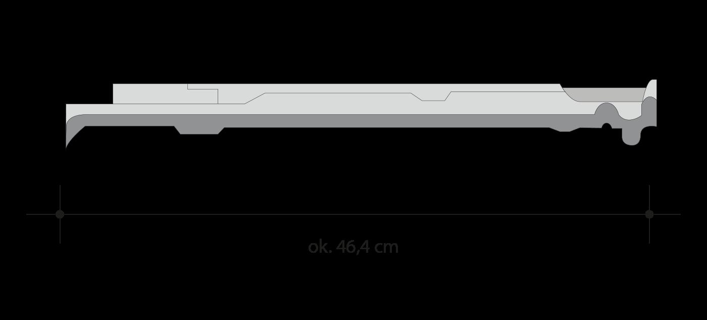 Размеры черепицы MONZAplus медная ангобированная