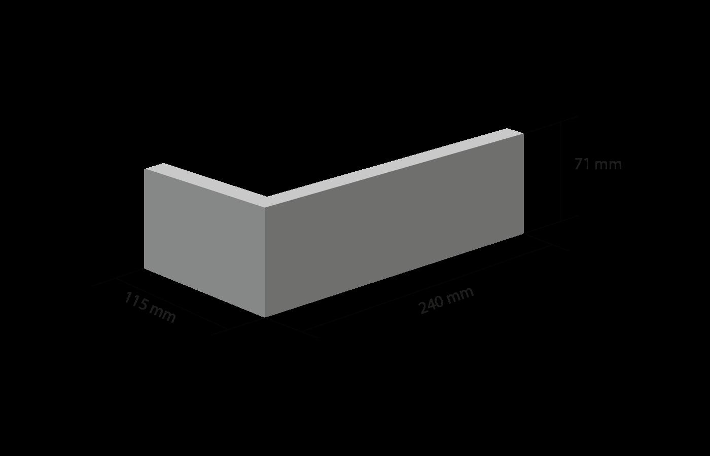 Угловая клинкерная плитка Roben. Фото