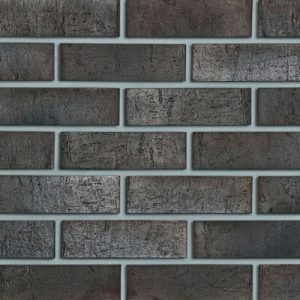 Польська клінкерна фасадна цегла Roben Sydney антрацит