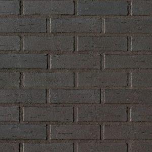 Немецкий клинкерный фасадный кирпич Roben Aarhus антрацит