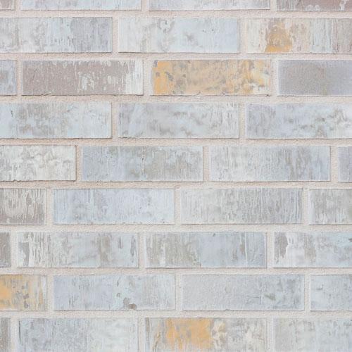 Немецкий клинкерный кирпич Röben Lyon небесно-серый