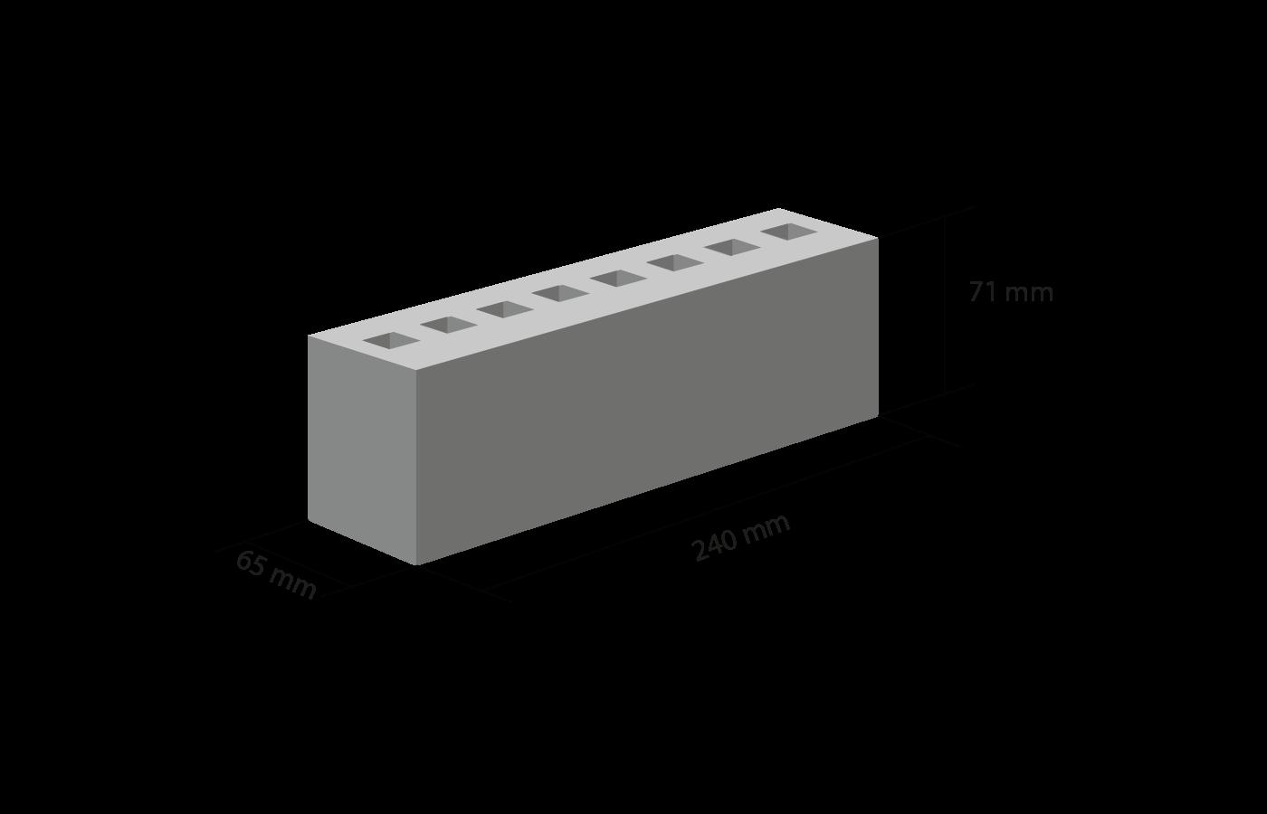 Размер клинкернго кирпича формат nf-sp 240-65-71