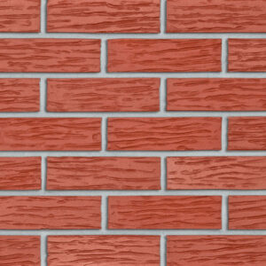 Клінкерна фасадна плитка Roben 26 Melbourne червона, рифлена - Roben-Україна