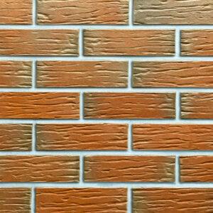 Польська клінкерна плитка Roben PENF 27 Camberra з відтінком, рифлена купити в Києві