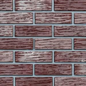 Польська клінкерна плитка Roben PENF 29 Adelajda бургунд, рифлена купити в Києві. Фото, ціна