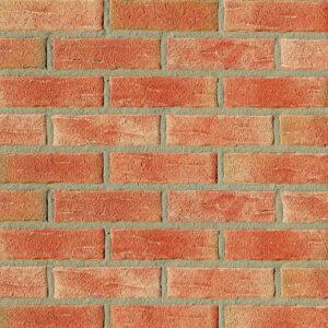 Немецкая клинкерная плитка Roben Aarhus красная с оттенком