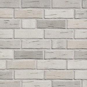 Немецкая клинкерная фасадная плитка Roben Aarhus серебристо-серая