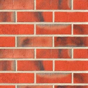 Клинкерная плитка Roben Marseille красная пестрая карбон