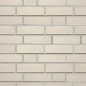 Немецкая клинкерная фасадная плитка Roben Oslo жемчужно-белая гладкая. Фото, цена, продажа