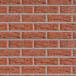 Немецкая клинкерная фасадная плитка Roben Vogtland красная. Фото, цена, продажа